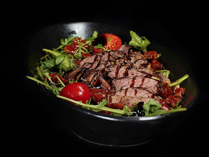 Salat mit Beef